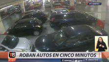 Así funcionan las bandas que roban en los estacionamientos de los centros comerciales de Santiago