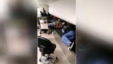 [VIDEO] Pasajeros duermen en aeropuerto de Antofagasta por retraso de vuelo