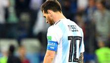 [VIDEO] Goleado y frustrado: Así fue la amarga salida de Messi luego de caer contra Croacia