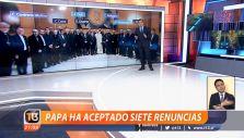 [VIDEO] Papa Francisco ha aceptado siete renuncias de obispos