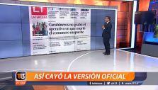 [VIDEO] Cronología: Así cayó la versión oficial del caso Catrillanca
