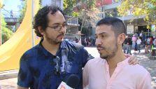 [VIDEO] Pareja homosexual pide casarse tras fallo de Corte Suprema