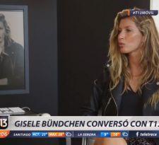 Gisele Bündchen: las revelaciones de la supermodelo brasileña a T13