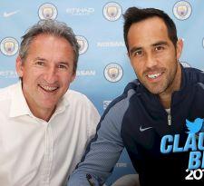 Ya es oficial: Claudio Bravo se convirtió en nuevo arquero del Manchester City