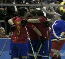 Las marcianitas debutan con notable goleada en el Mundial de Iquique