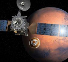 La sonda se desprendió de la nave nodriza TGO. Todo parecía ir como se esperaba hasta momentos después del ingreso a la atmosfera del planeta rojo.