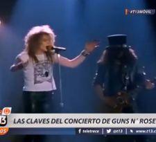 [VIDEO] Guns N Roses en Chile: las claves de su retorno a nuestro país