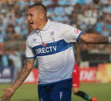 Nicolás Castillo supera a Esteban Paredes y ahora es el exclusivo goleador del Apertura