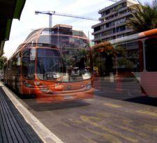Conductores denuncian falta de fiscalización a buses de transportes en Quilicura