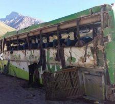 Chofer de Turbus arriesga 25 años de cárcel tras fatal accidente en Mendoza
