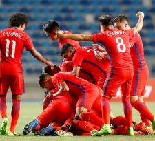 La selección chilena registra un triunfal debut en el Sudamericano Sub 17