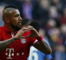 [VIDEO] Arturo Vidal anota en increíble goleada del Bayern Münich sobre Hamburgo