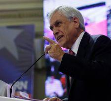 Sebastián Piñera entrega ejes programáticos y asegura que no habrá retroexcavadora