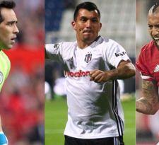 La agenda de los futbolistas chilenos en Europa: Este viernes Bayern de Vidal juega en Alemania