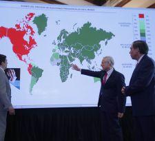 Canciller hace positivo balance de voto en el exterior: Hay más participación que en primarias