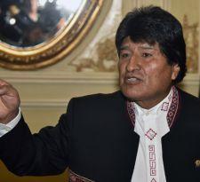 Evo Morales agradece apoyo de Florcita Motuda a la demanda marítima boliviana