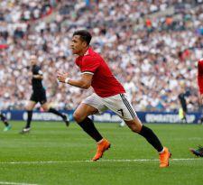 Alexis Sánchez aportó con un gol en la clasificación del Manchester a la final de la FA Cup