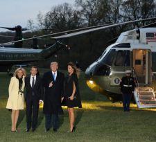 Macron y Trump abordarán temas de conflicto en visita clave a Estados Unidos