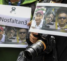 Encuentran cuerpos que podrían ser del equipo de prensa ecuatoriano asesinado en Colombia