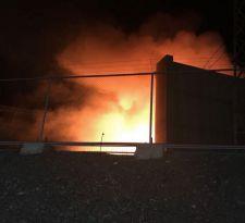 Incendio afectó a central hidroeléctrica Alfalfal en San José de Maipo