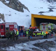 Funcionaria de Carabineros figura entre fallecidos en accidente en ruta al Paso Los Libertadores