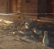 [FOTOS] Se registran daños en el casco histórico de La Serena tras sismo