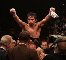 Pacquiao regresa triunfal a Las Vegas con dominante victoria ante Broner