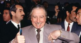 [VIDEO] Pinochet vota para el plebiscito: Yo siempre estoy optimista