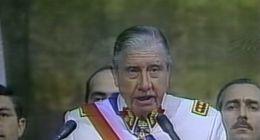 [VIDEO] Pinochet realiza cuenta pública y anuncia bono para trabajadores