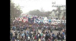 [VIDEO] Comando del NO realiza primera manifestación pública