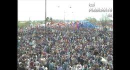 [VIDEO] Comando del NO realiza masivo acto en San Miguel