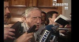[VIDEO] Pinochet en La Moneda: Ha sido muy favorable la votación al Sí