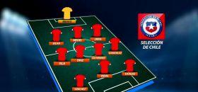 """La posible formación de la """"Roja"""" para el duelo de este jueves ante Brasil"""