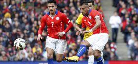 Sampaoli pone en duda presencia de Vidal y Alexis ante Brasil