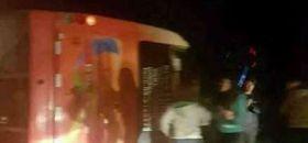 Volcamiento de Pullman Bus deja 46 menores lesionados en Olmué