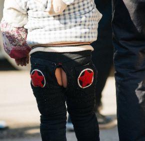 5c1e7c41a189 Kai dang ku, los pantalones con agujero que aún se usan en China ...