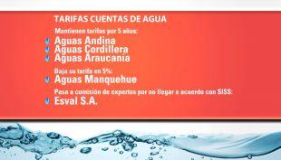 [T13 Tarde] Precios del agua potable: 3 empresas congelan sus tarifas y una registra baja