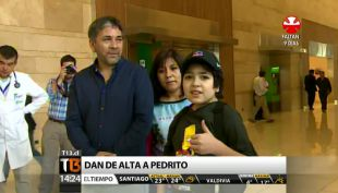 [T13 Tarde] Tras meses internado fue dado de alta Pedrito Quinteros: recibió corazón artificial