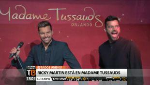[T13 TARDE] Ricky Martin es la nueva celebridad que tiene su figura en Madame Tussauds