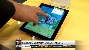 [T13 TARDE] Se espera que venta de tablets baje un 40% esta Navidad