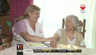 [T13 Tarde] Amanoz, la fundación donde adultos mayores cuidan de sus pares