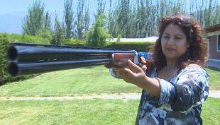 [T13] Mujeres de Pudahuel deciden armarse con escopetas ante continuos asaltos