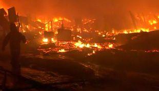 [T13] El drama de los extranjeros residentes en Antofagasta tras el voraz incendio