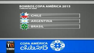 [T13 Tarde] Así se prepara el sorteo de la Copa América de este lunes