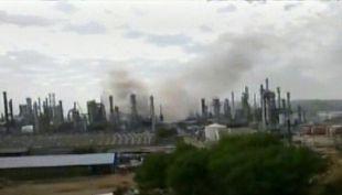 [T13] Dos heridos leves fue el resultado del incendio que afectó a la Refineria Aconcagua de Enap