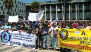 [T13] Paro de la ANEF: Así se vieron afectados los servicios públicos en Concepción