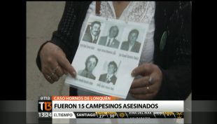 [T13 TARDE] 7 carabineros son acusados de secuestro y homicidio calificado por caso Hornos de Lon