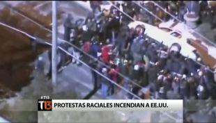 [T13] Continúan las protestas en Estados Unidos por impunidad a policía que mató a Michael Brown