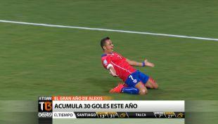 [T13 AM] Bloque deportivo: La destacada actuación de Alexis en la Champions League