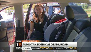 [T13 Tarde] Aumentan exigencias de seguridad para sillas de niños en vehículos